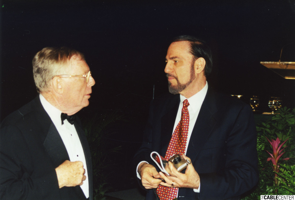 Chuck Dolan and Paul Kagan