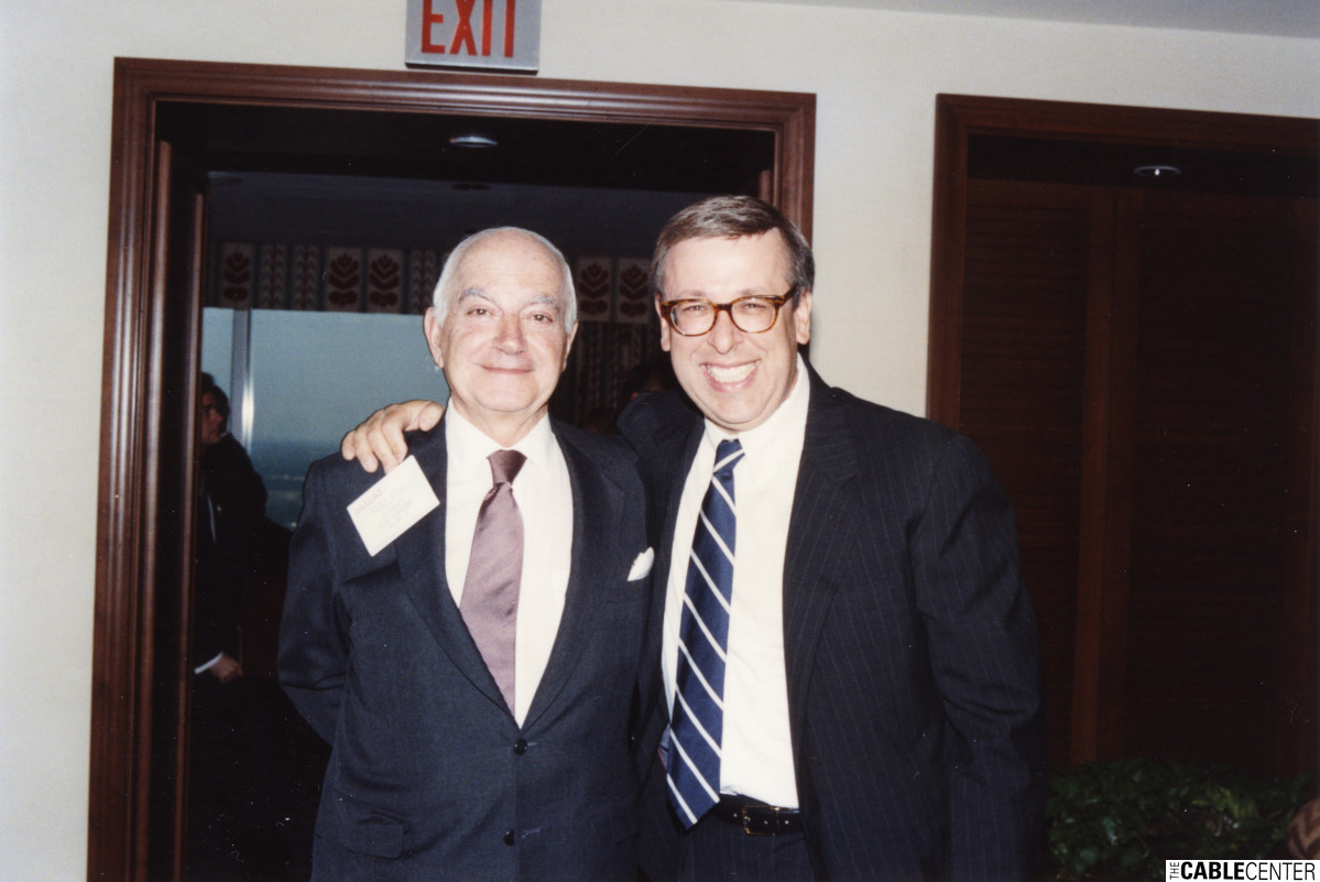 Ralph Baruch and Marc Nathanson