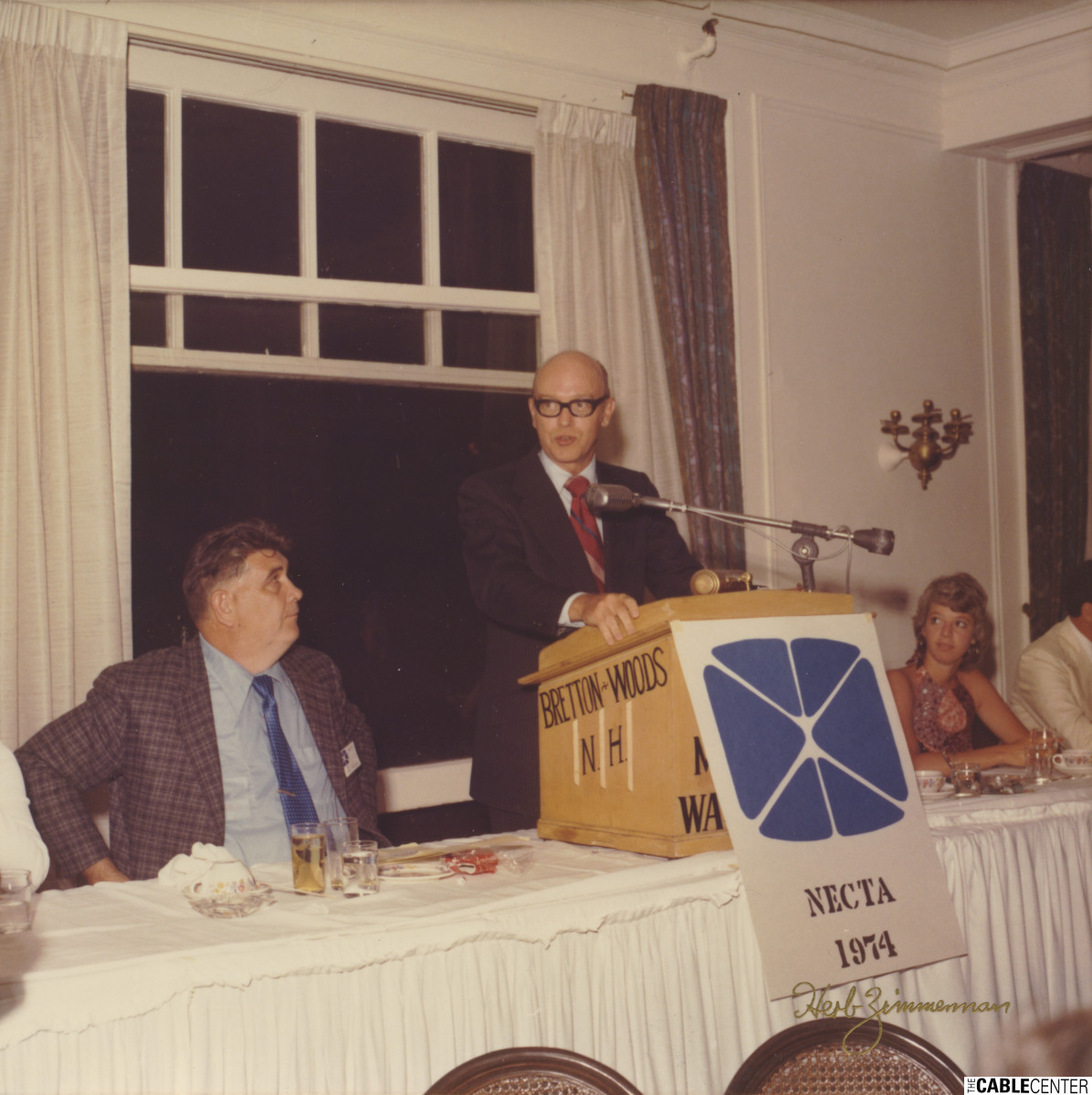 William Kenny on New England Cable Television Association panel