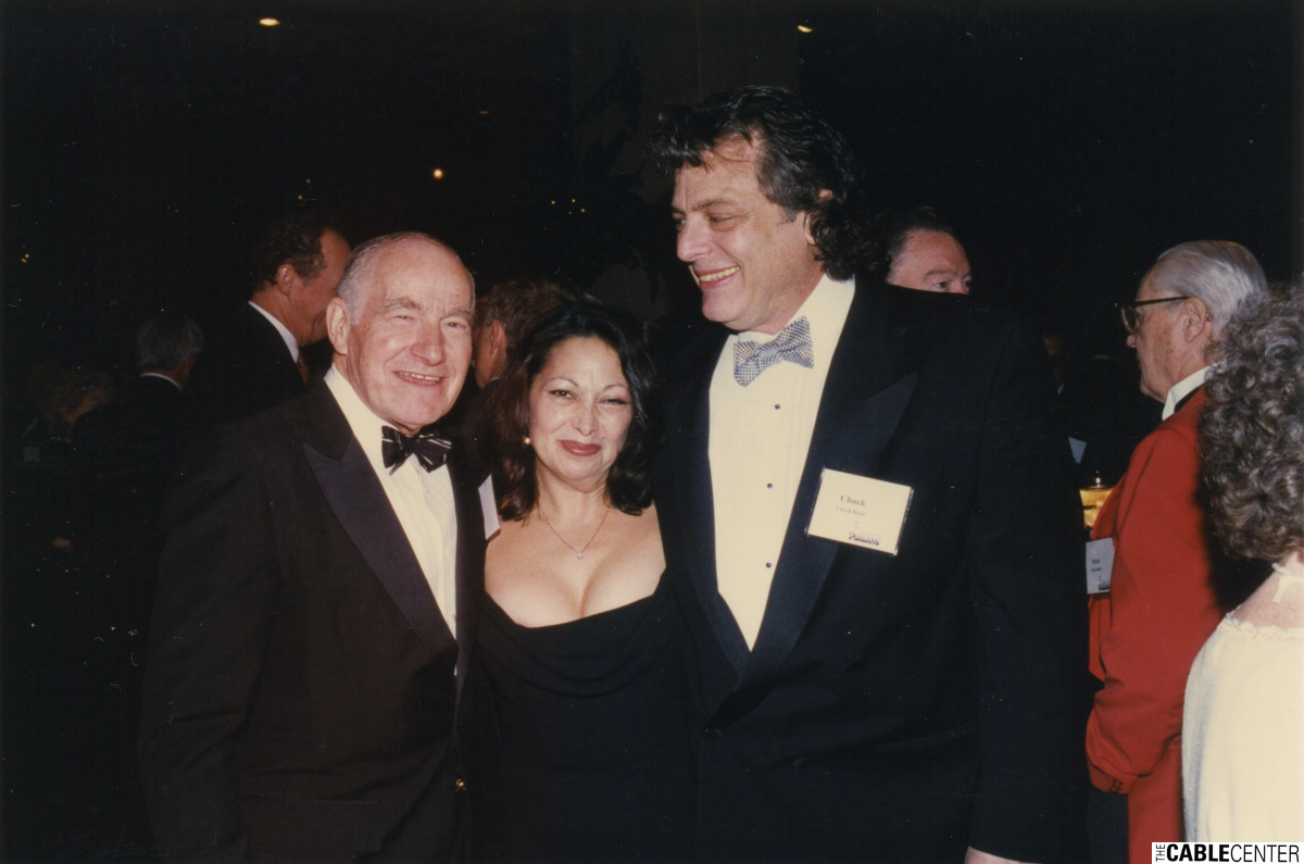 Burt Harris, Shelley and Chuck Klein 1997
