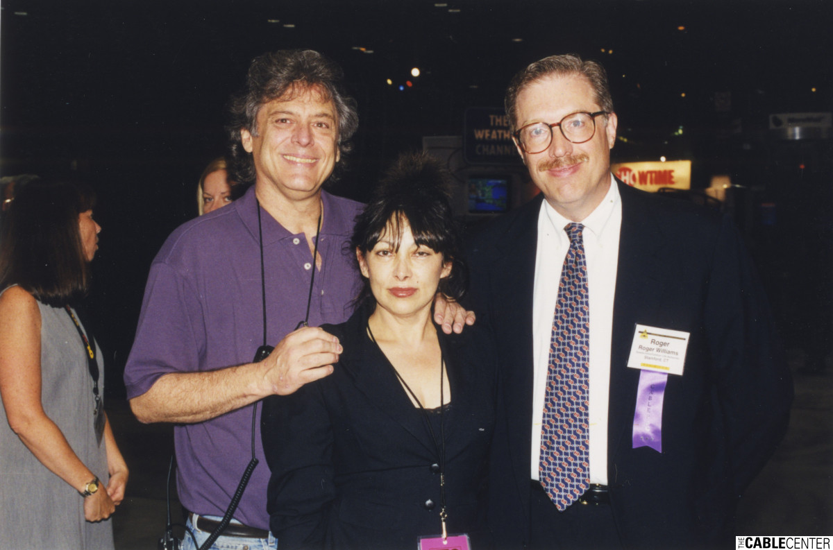 Chuck Klein, Shelley Klein and Roger Williams