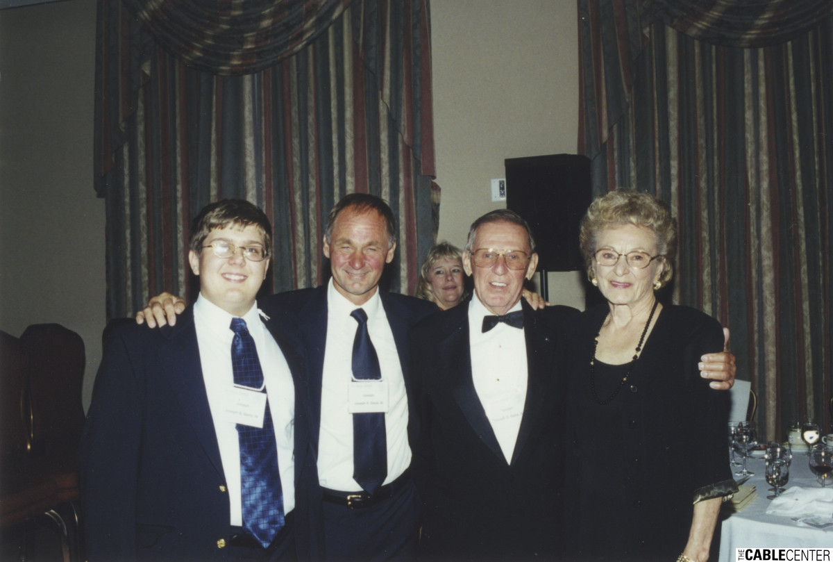 Three Generations of Joe Gans (Sr., Jr., III) and Irene Gans