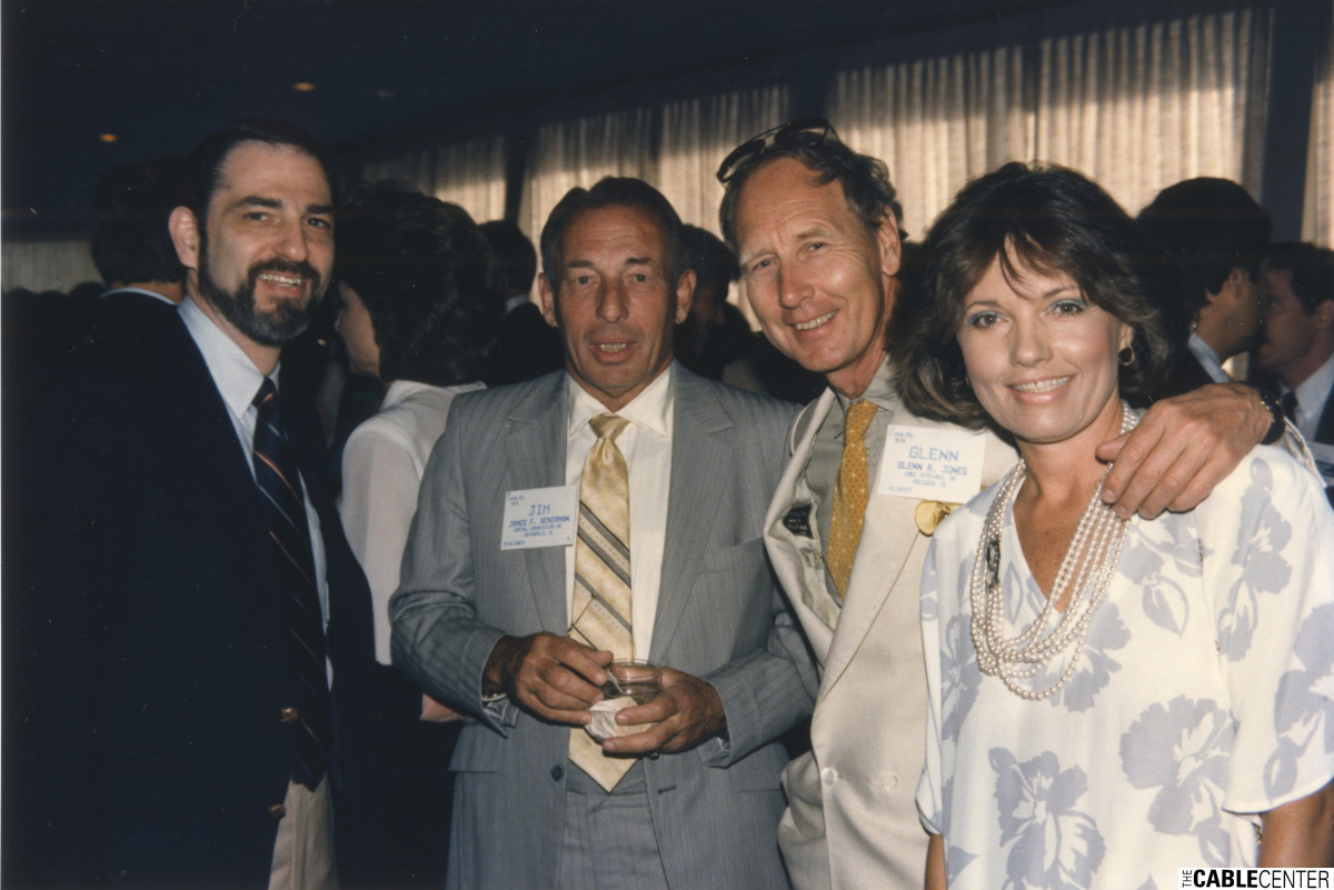 Paul Kagan, James Ackerman, Glenn Jones and Diane Eddolls