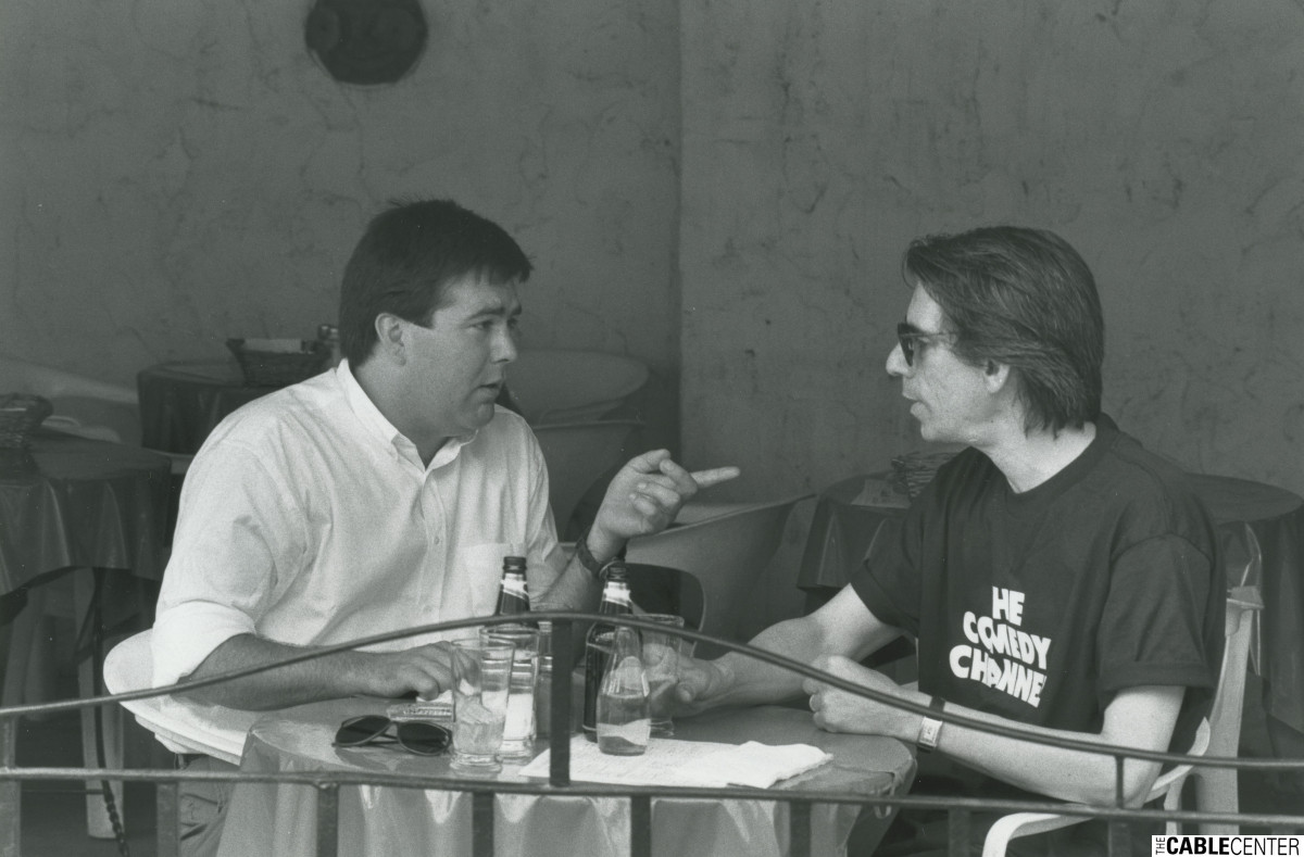 Kevin Meaney and Richard Belzer