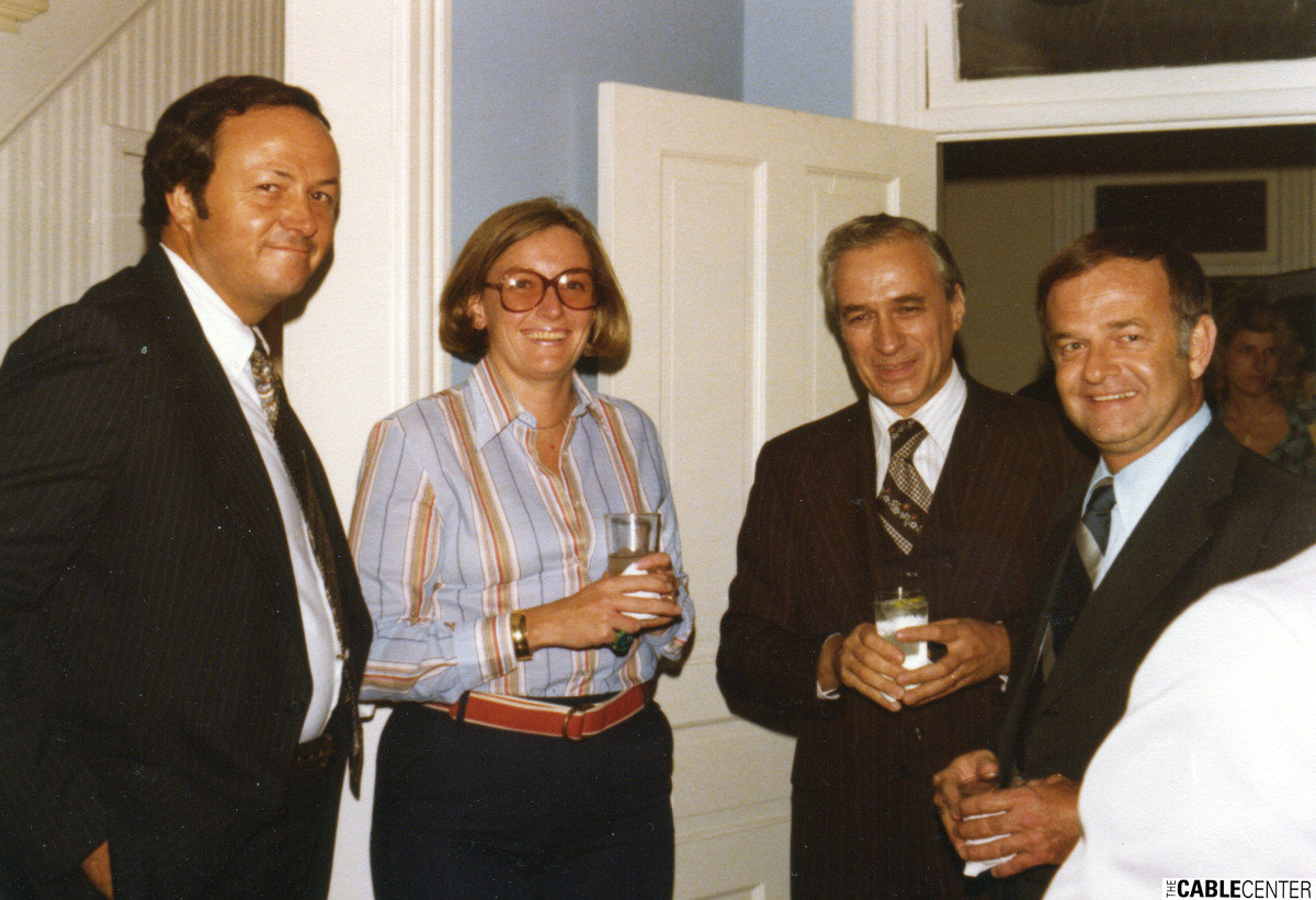 Doug Dittrick, Sheila Mahoney and John Gwin, 1977.