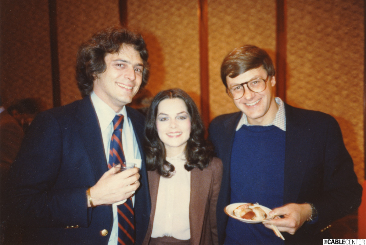 Chuck Klein, Shelley Klein, and Bill Hooks, 1980.