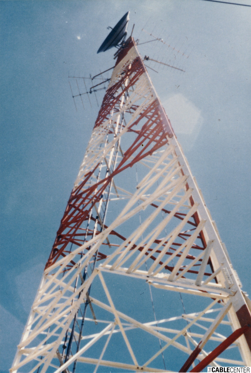 Cablevision antenna tower