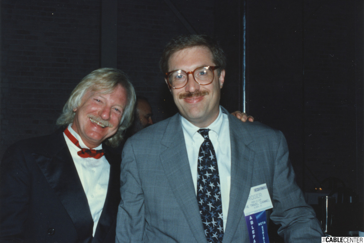 Paul Maxwell and Roger Williams, 1993