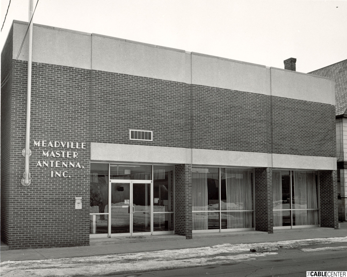 Front of Meadville Master Antenna office building