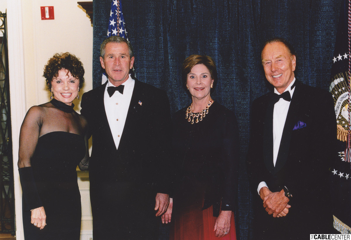 Dianne Eddolls, President George W. Bush, Laura Bush, and Glenn Jones