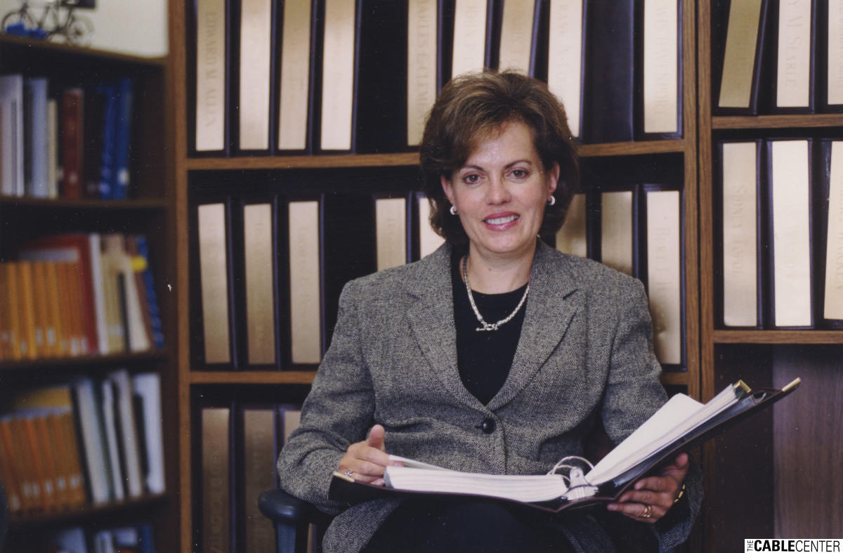 Susan Madison, Director of the Library at the National Cable Television Center and Museum