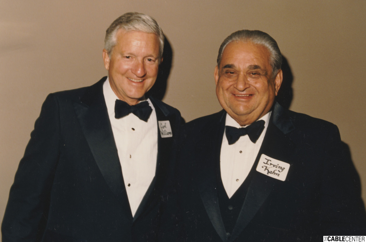Carl Williams and  Irving Kahn