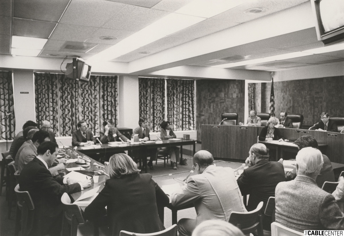 Federal Commucations Commission (FCC) conference on state and local regulation, May 16, 1976