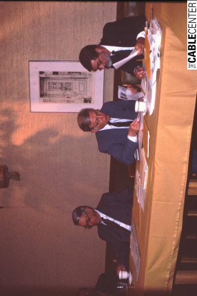 Sandford Randolph, Bob Tarlton, and Robert Dudley
