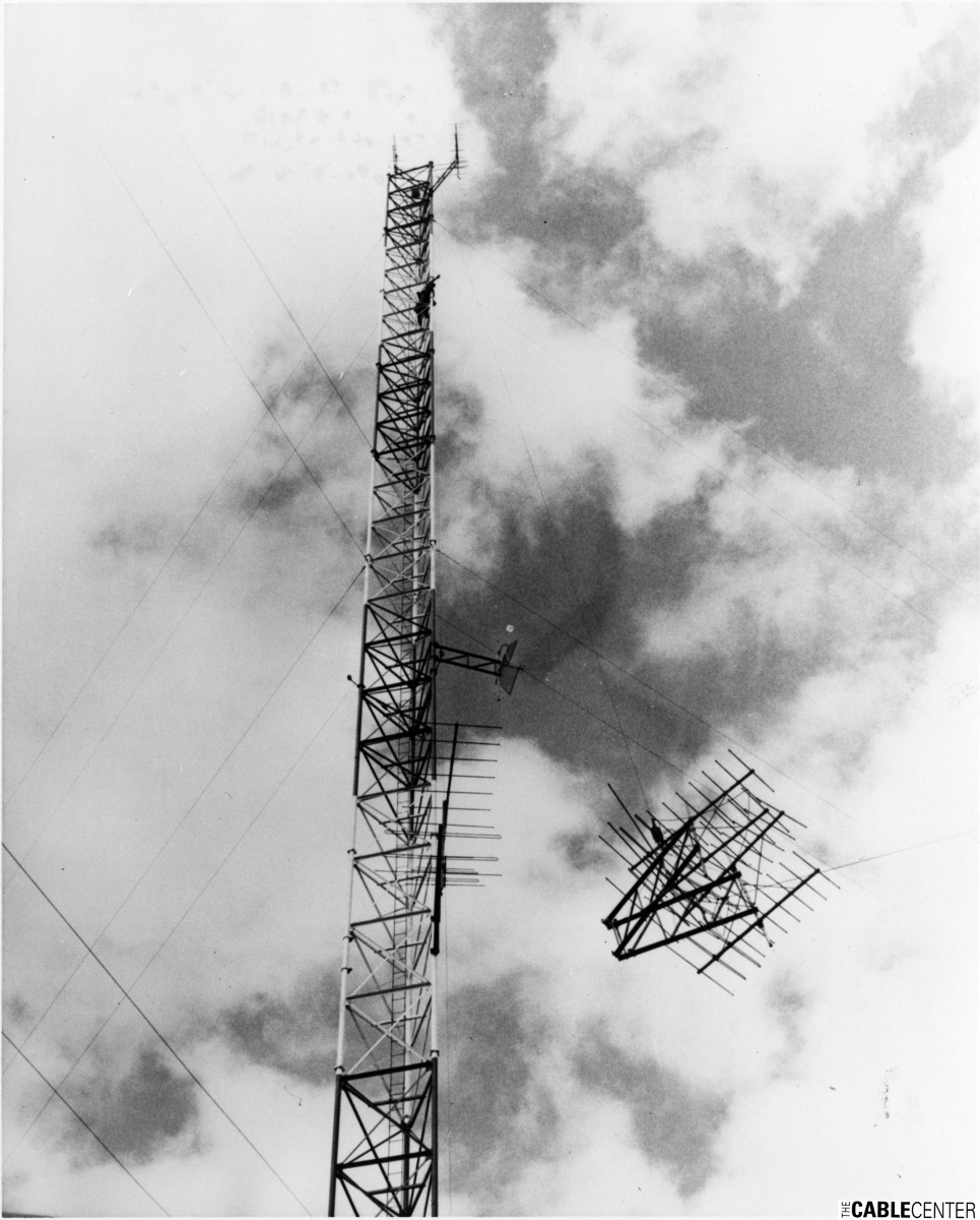 Antenna tower construction