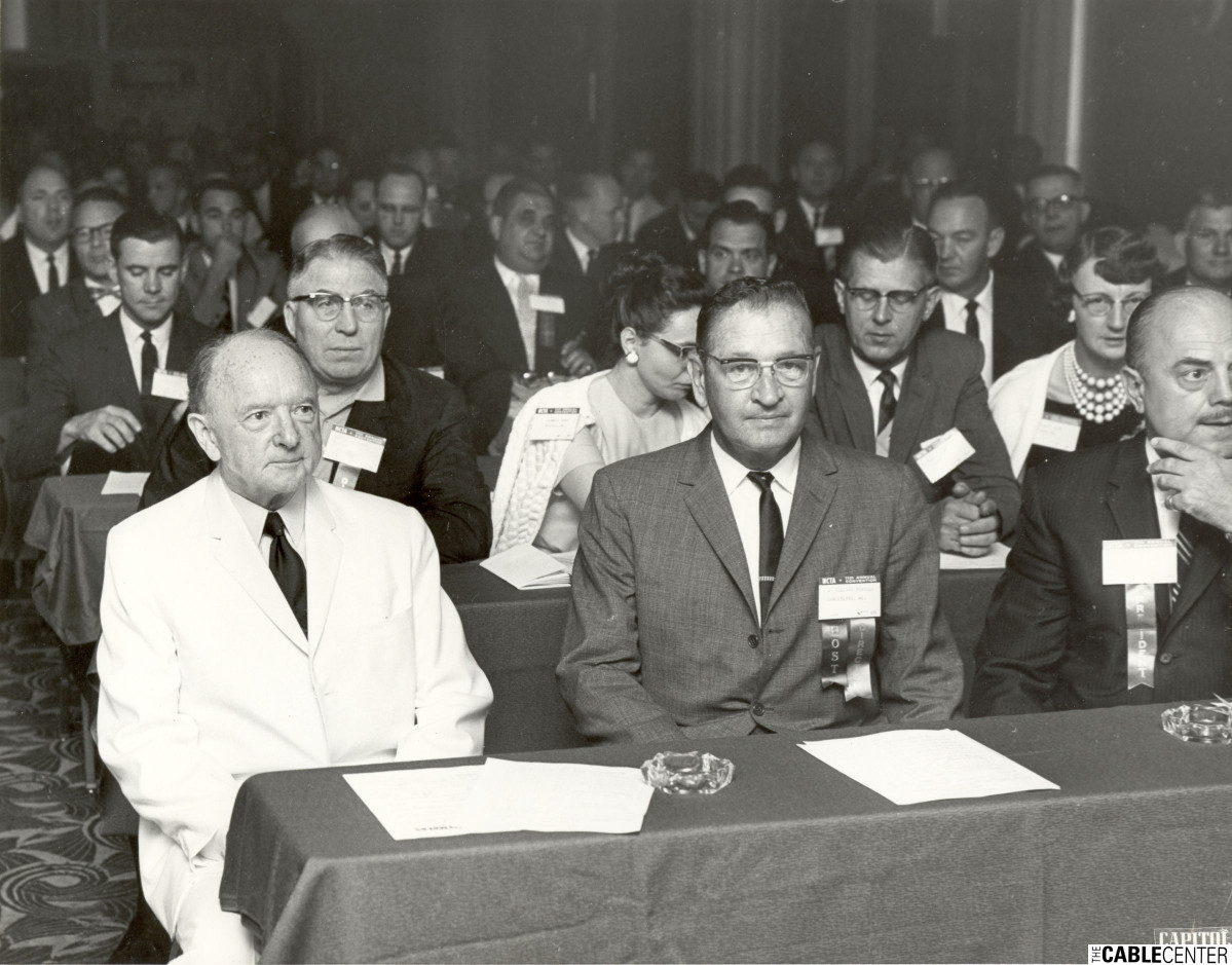 National Community Television Association meeting, Washington D.C., 1962
