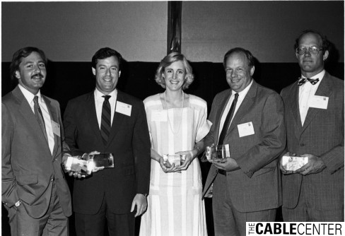 1986 CTAM award winners