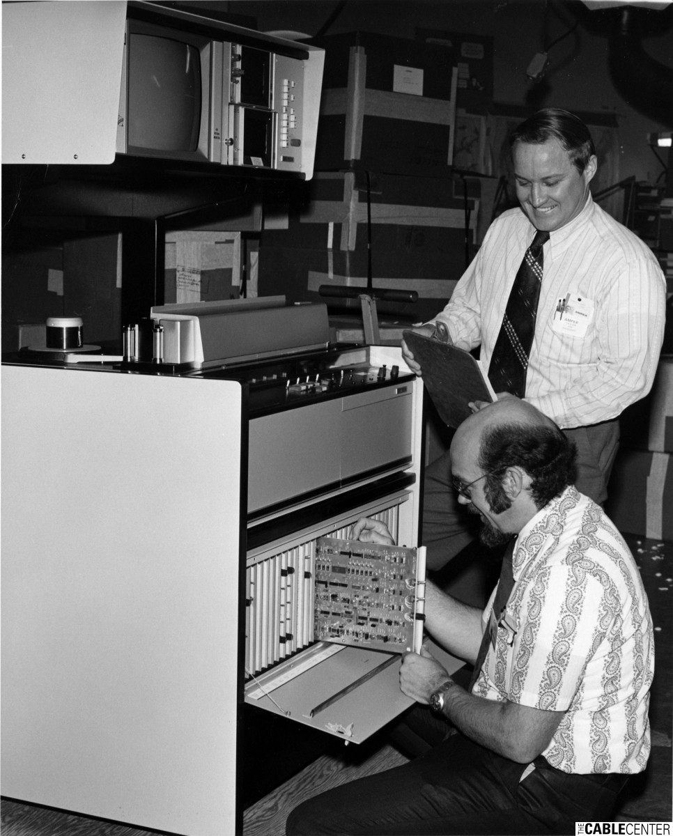 Ampex AVR-2 studio recorder/reproducer gets final check at Sunnyvale plant