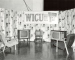 Trade show booth for WICU-TV