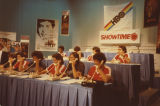 Telephone operators at HBO/Showtime promotional event