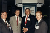 Brian Conboy, Joe Collins, and Mike Hammer at 1990 NCTA Cable Show