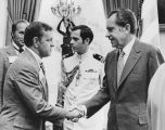 Bill Daniels and Richard Nixon