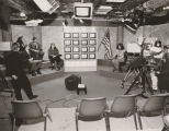 "Studio set-up for CNN/Cox production ""Student's View '92: The Presidency"""