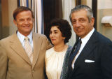 John Gwin with Margaret and Barry Zorthian, 1977.