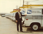 Warner Amex Security System vans
