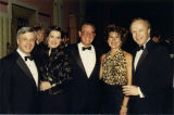 Jim and Louise Mooney, Jerry Lindauer, Tony Cox 1990