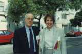 Trygve Myhren and June Travis, 1993