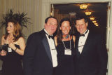 Maureen Bresnan-Sunko, Pat Bresnan, Heather Stul, and Rick Michaels at the 2000 Cable Television Pioneers
