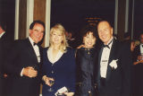 Alan and Sandra Gerry, Dianne Eddolls, and Glenn Jones at the 2000 Cable Television Pioneers dinner and