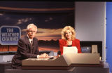 John Hope and Mary Brown, on-camera Meteorologists for The Weather Channel