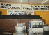 On the set of a Black Hawk Cable Communications telethon