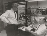 Hank Arbeiter and Ken Simons of Jerrold Electronics