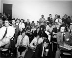 Audience at session, 1973 NCTA Convention